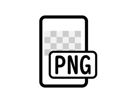 PNG icon monochrome