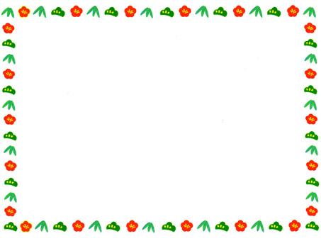 節日裝飾(框架②)