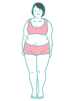 Metabolic Syndrome Front Chubby