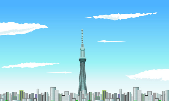 Tokyo Skytree Building High Town