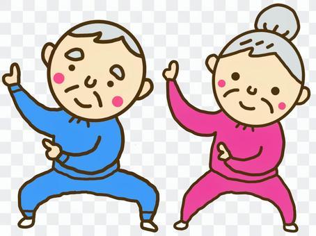跳舞祖母的祖父
