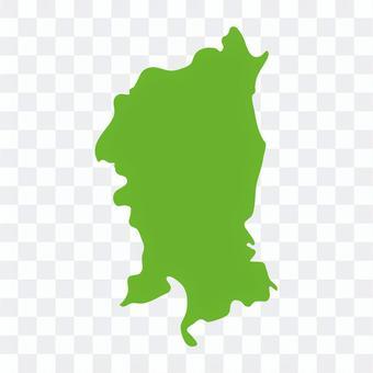 京都市:地方地図