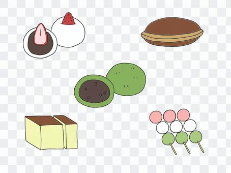 日本糖果套