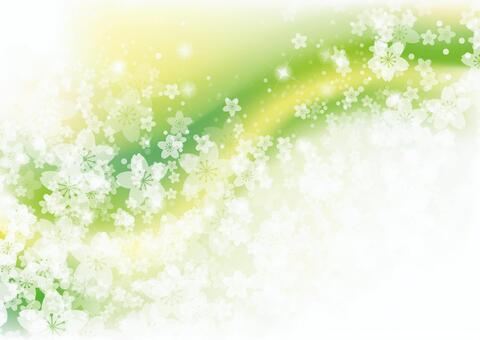 Sakura 27 - wave green