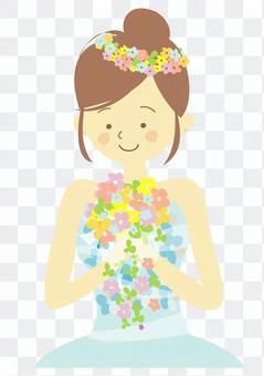 花冠的新娘