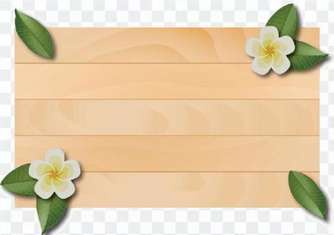Plumeria sign