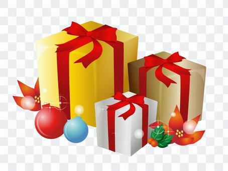 閃閃發光的禮物盒
