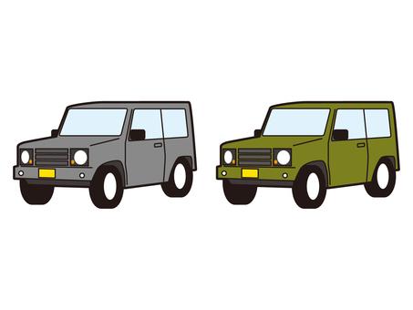 SUV車四驅輕型車