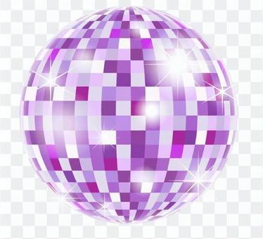 鏡子球_紫色