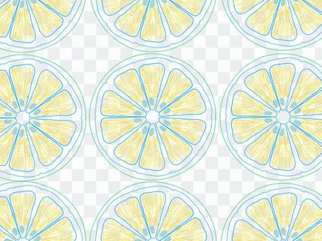 柑橘類水果切片牆紙