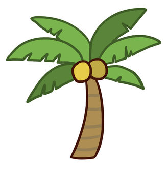 Palm tree (one)