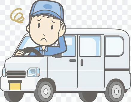 车01  - 轻型面包车 - 困扰 - 整个身体