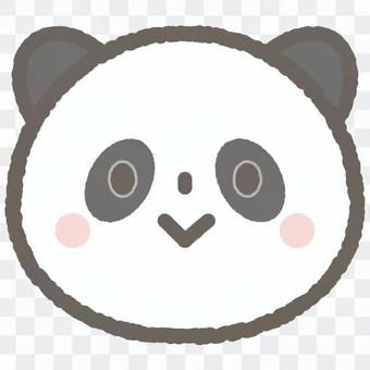 可愛的動物熊貓