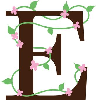 花字母字母表
