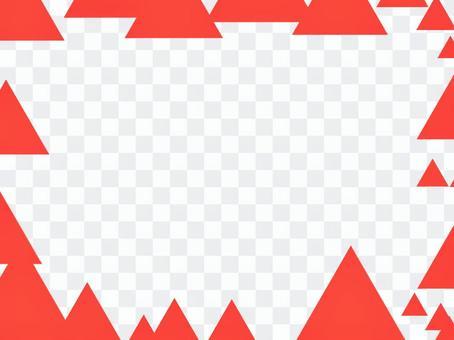 Triangular frame