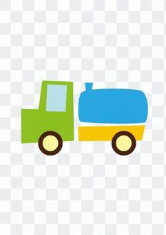Tank lorry car
