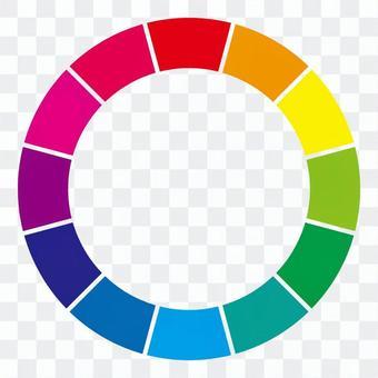 12個色環(劃分)