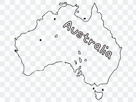 オーストラリア地形