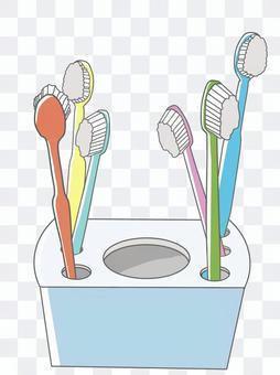 牙刷(許多家庭專用)
