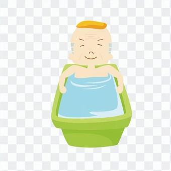 人们洗澡10