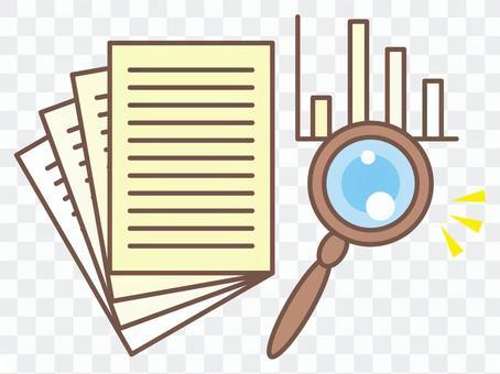 統計調查圖像