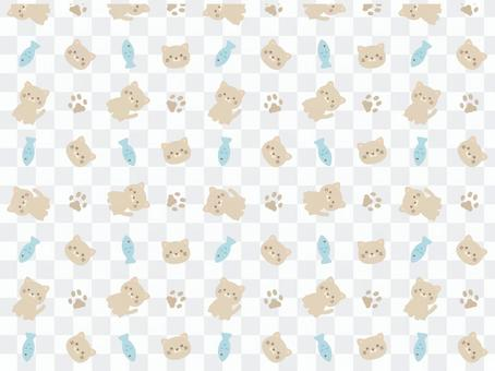 Cat (gray) pattern 1
