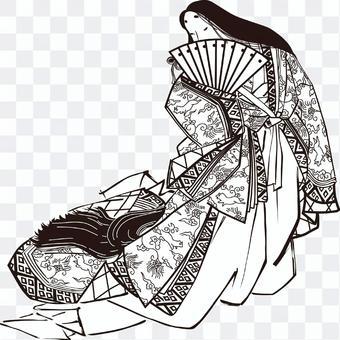 第19部分的日本服飾美女