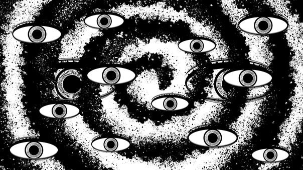 Eyes, see, people's eyes, people's eyes, silhouette