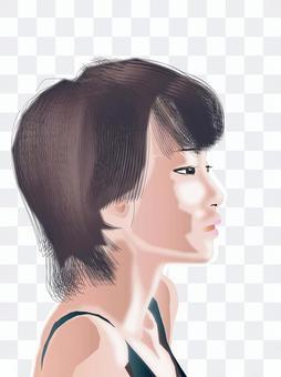 Women's profile profile series 14