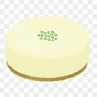 ピスタチオのホールレアチーズケーキ