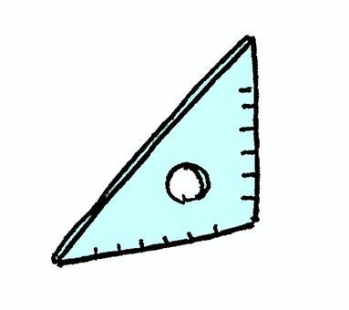 Triangular ruler 1