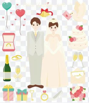 快乐的婚礼!