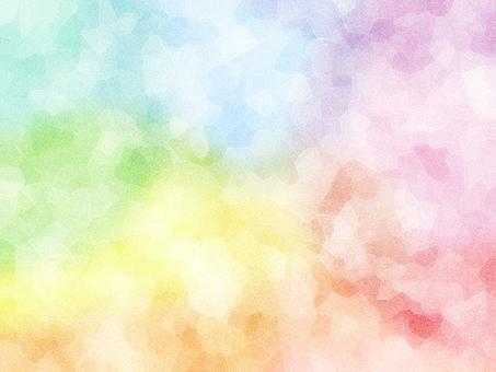 彩虹柔和的模糊紮染背景