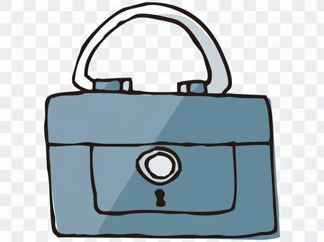 Handbank safe
