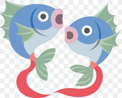 Pisces constellation horoscope fish