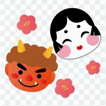 Okame與魔鬼