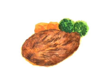 Loin steak