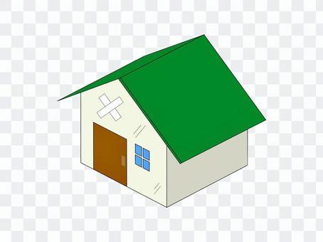 房子獨立二手老綠
