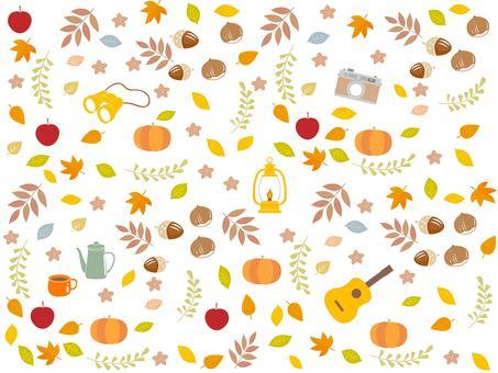 秋季假期戶外背景