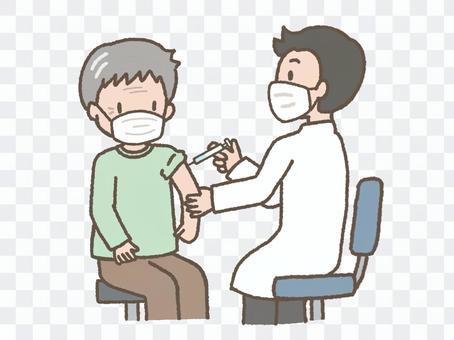 接種疫苗(老人)