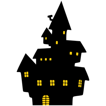 Creepy Western-style silhouette