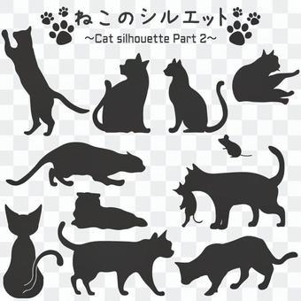 貓剪影第2部分