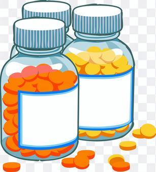 藥膠囊補充劑