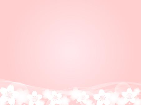 櫻花裝飾框架8