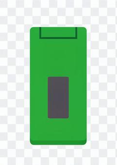 Mobile phone (green)