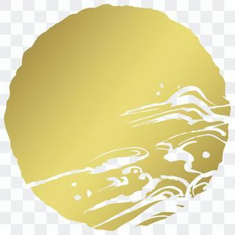 粗糙的圓圈_金黃色的蒸騰_cs