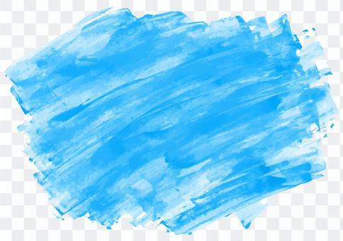 油漆紋理3新鮮的藍色