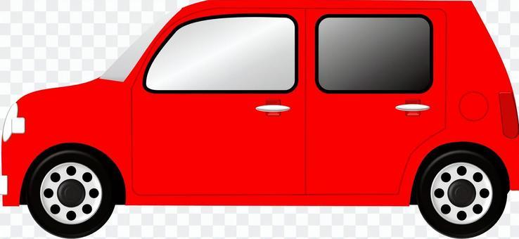 汽车(红色)