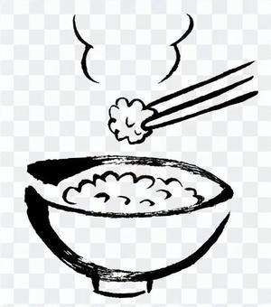 煮熟的米飯1
