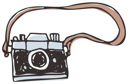 粗手繪相機(相機背帶)